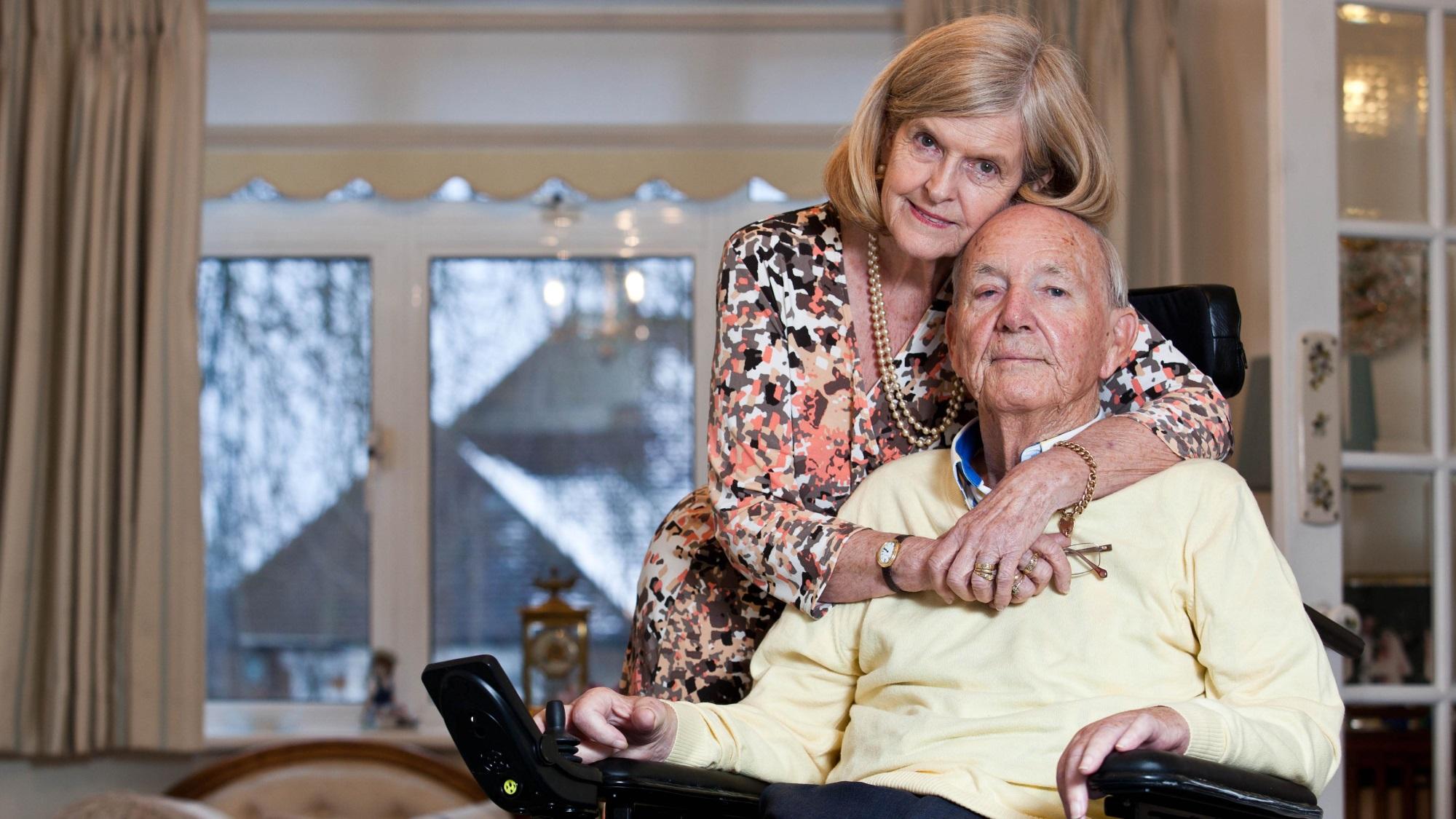Geoff and Ann Whaley