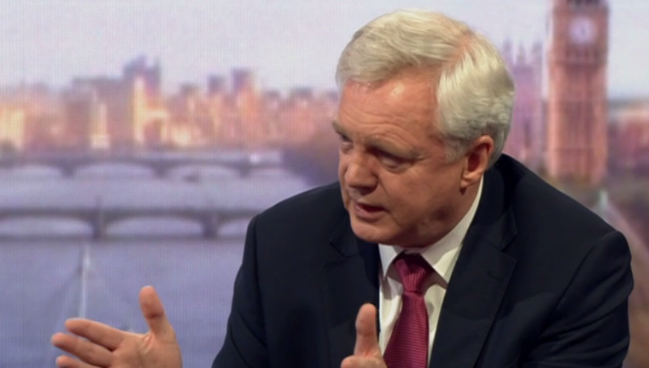 David Davis on the Andrew Marr Show, 25/06/17
