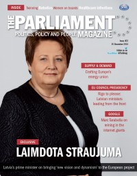 Parliament Magazine cover