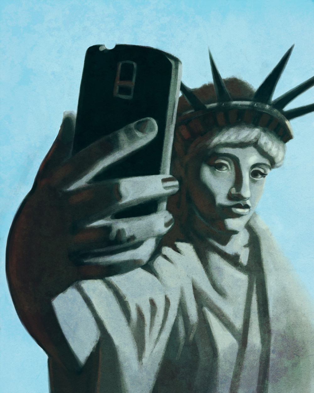Image of Selfie of Liberty