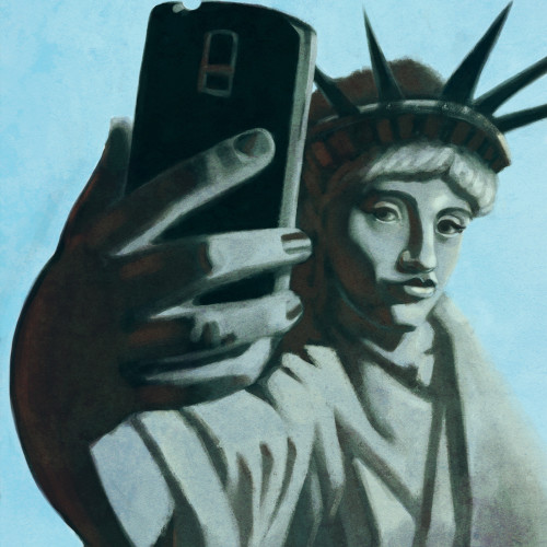 Selfie of Liberty