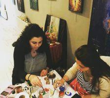Taş Boyama Workshop
