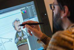 Güzel sanatlara hazırlık Çizgi Film ve Animasyon kursu, 4 hafta boyunca haftanın istediğiniz 3 günü katılabileceğiniz, lise, üniversite ve yurtdışı üniversite yetenek sınavlara hazırlanabileceğiniz, Doku Sanat Atölyesi eğitmenleri tarafından hazırlanmış tam kamsamlı bir eğitim programıdır. Size yeni bir kariyer fırsatı sunan Çizgi Film ve Animasyon, son yıllarda hayatımıza giren mesleklerdendir. Televizyon, sinema, dijital yayıncılık, internet firmaları gibi bir çok alanda iş imkanı bulabileceğiniz bu bölüme girmek isteyen öğrenciler için hazırladığımız Çizgi Film ve Animasyon Kursumuz, tüm üniversitelerin yetenek sınavlarına uygun formattadır.  Çizgi Film ve Animasyon eğitimimizde, temel çizgi film ve animasyon bilgisi, karakter yaratma ve geliştirme, öykü tasarımı, karakter animasyonları, modelleme, illüstrasyon ve portfolyo uygulamaları gibi bir çok konuda seviyenize göre hazırlanan programdan oluşmaktadır. Her yıl onlarca kursiyerimiz, Doku Sanat Atölyesi farkıyla yetenek sınavlarından başarılı sonuçlar almaktadır.