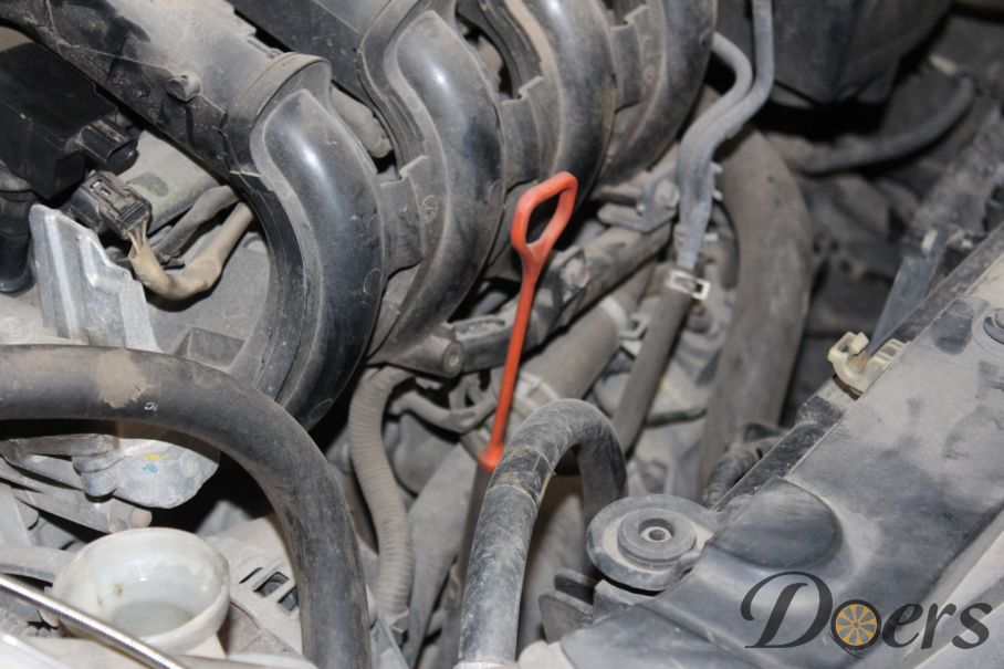 Step number 1 image for Engine Oil Change or Check Oil Level and Condition