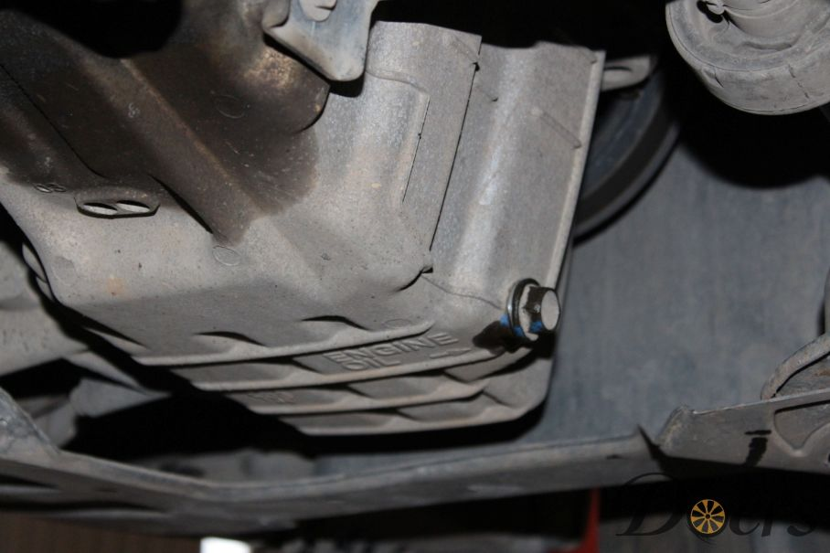 Step number 4 image for Engine Oil Change or Check Oil Level and Condition