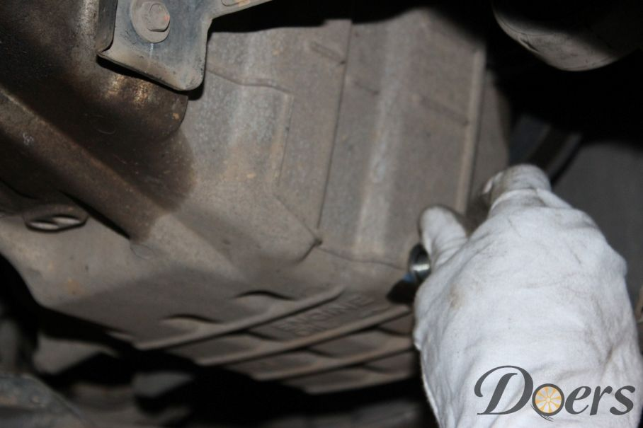 Step number 7 image for Engine Oil Change or Check Oil Level and Condition