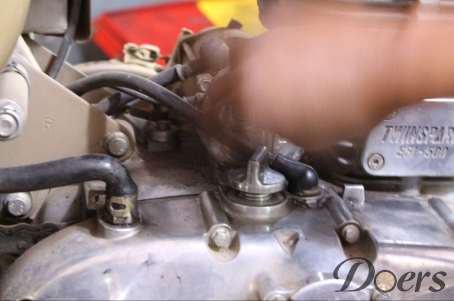 Step number 6 image for Engine Oil Change or Check Oil Level and Condition