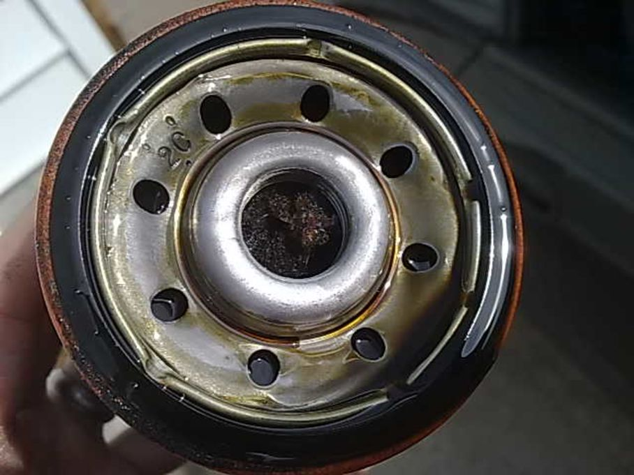 Step number 3 image for Oil Filter Changing