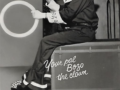 Bob McNea, Bozo Autograph Card 1961
