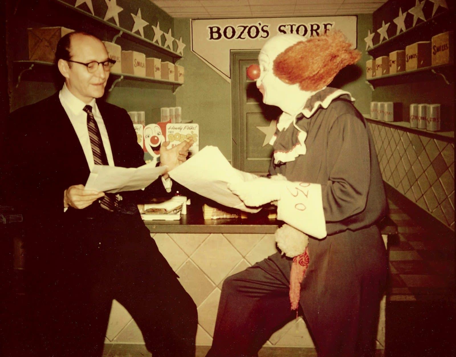 Bob McNea as Bozo the Clown