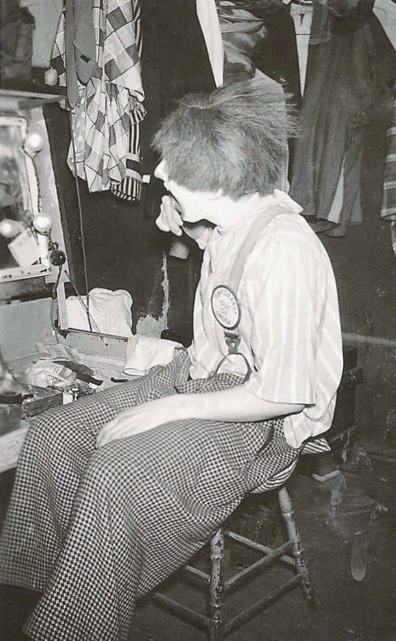 Bob McNea, The Man Behind The Greasepaint