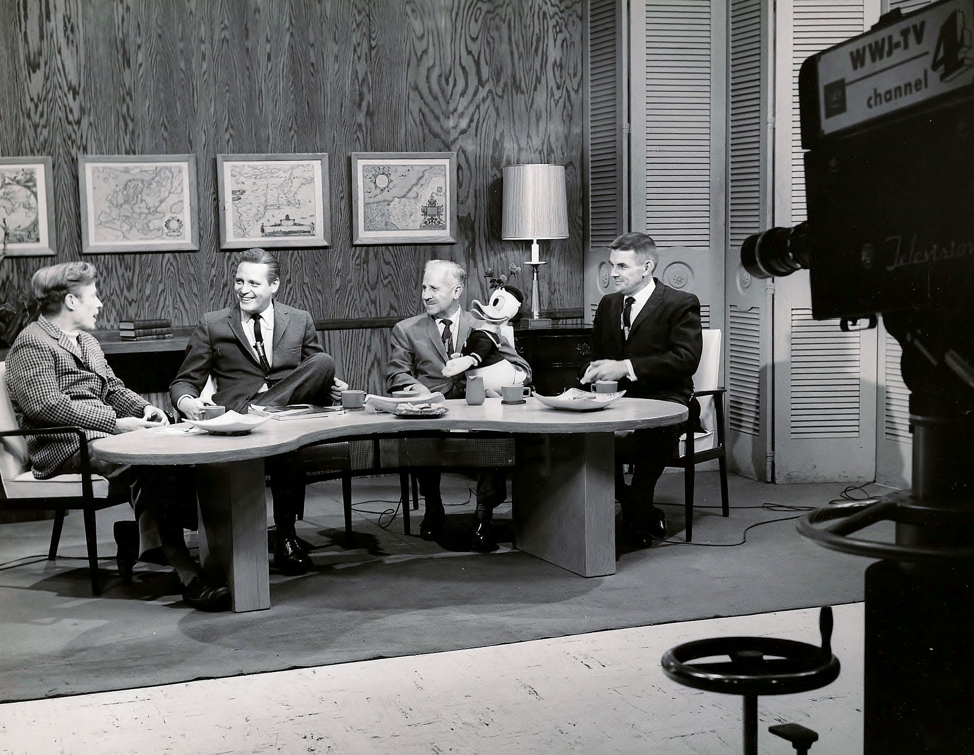 Mickey Mouse Club interview 1959