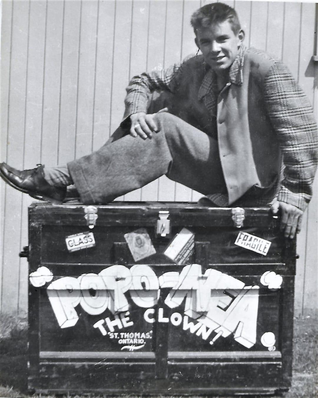 Bob McNea 1945