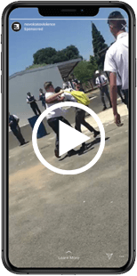 Fight video on a mobile phone