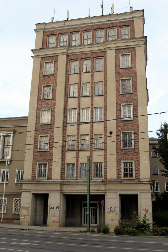 Rostock East German Building