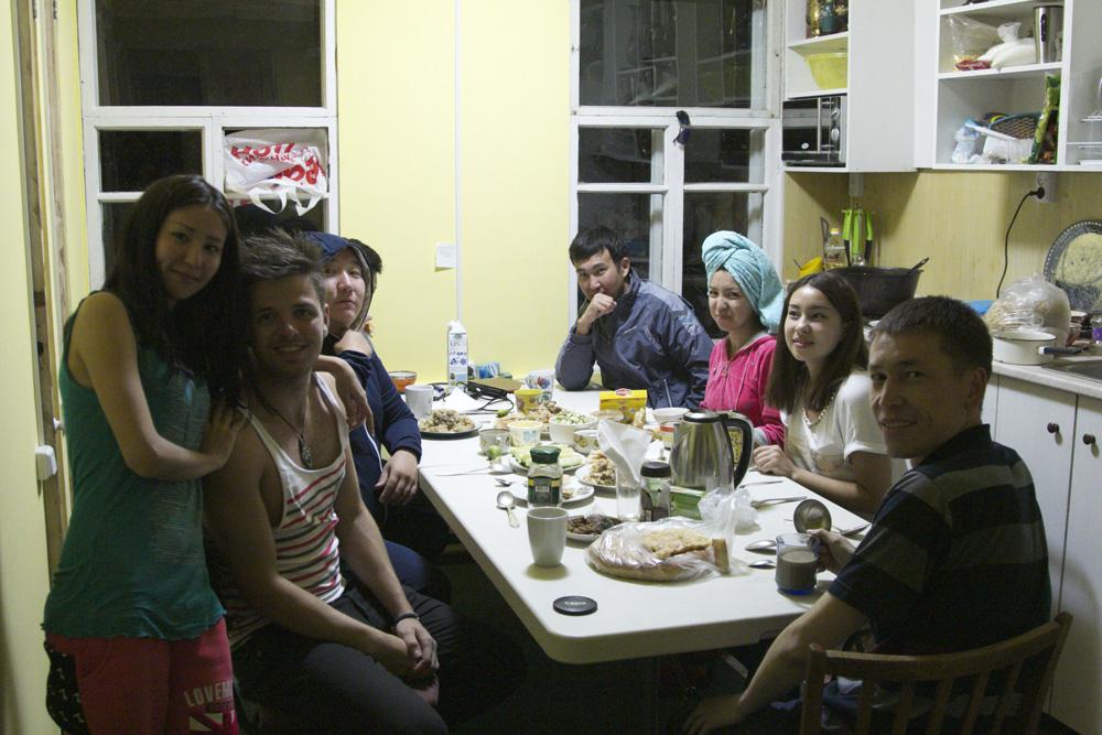 My hostel mates
