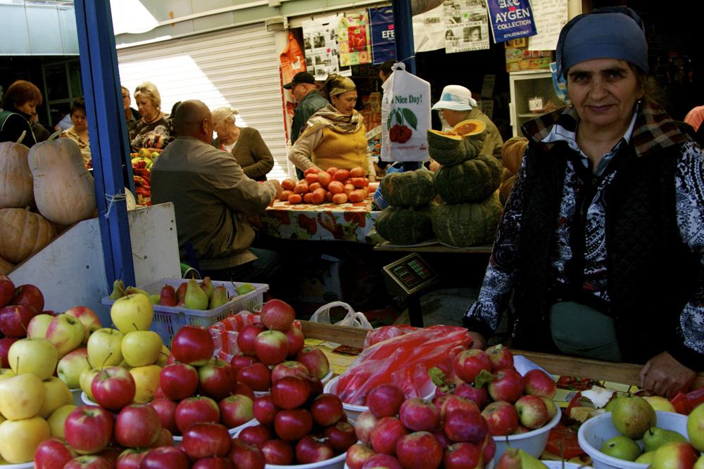 Green Bazaar, Almaty