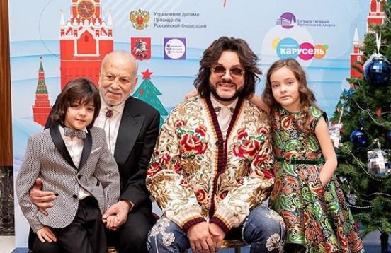 Дети Филиппа Киркорова не знают, кто такая Примадонна