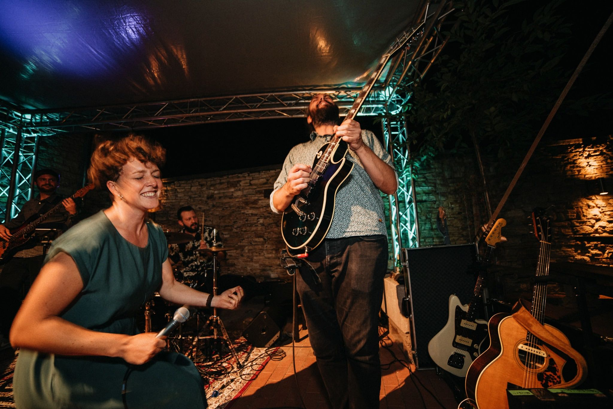 Hochzeitsparty mit Liveband Mattis Wiesenmühle, Rheinhessen