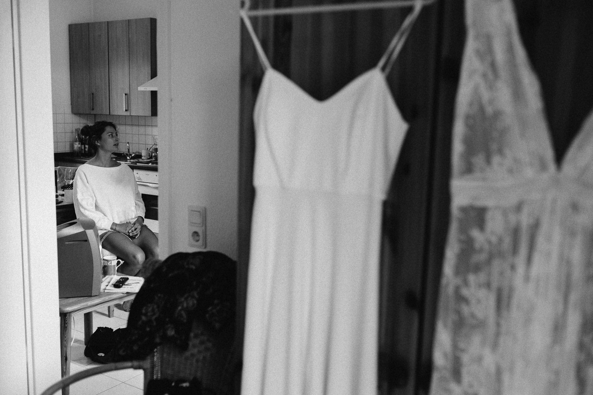 Getting Ready bei Hochzeit in Mattis Wiesenmühle