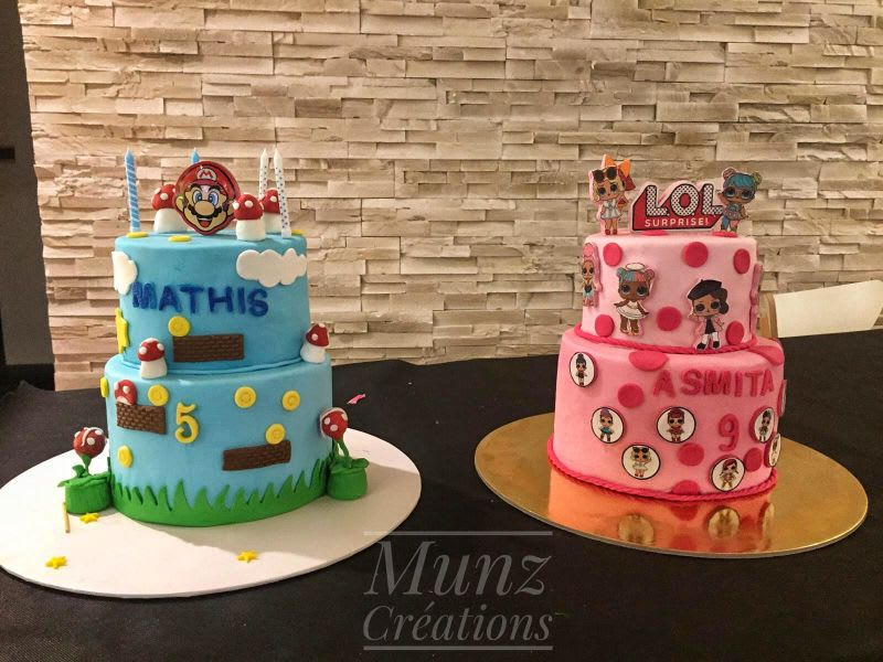 Photos de gâteau d\u0027anniversaire et cakedesign