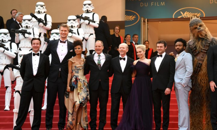 'Solo: A Star Wars Story' Gets Tepid Response at Cannes