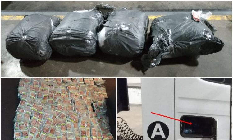 ICA officers find 9,000 sachets of chewing tobacco in lorry at Woodlands checkpoint