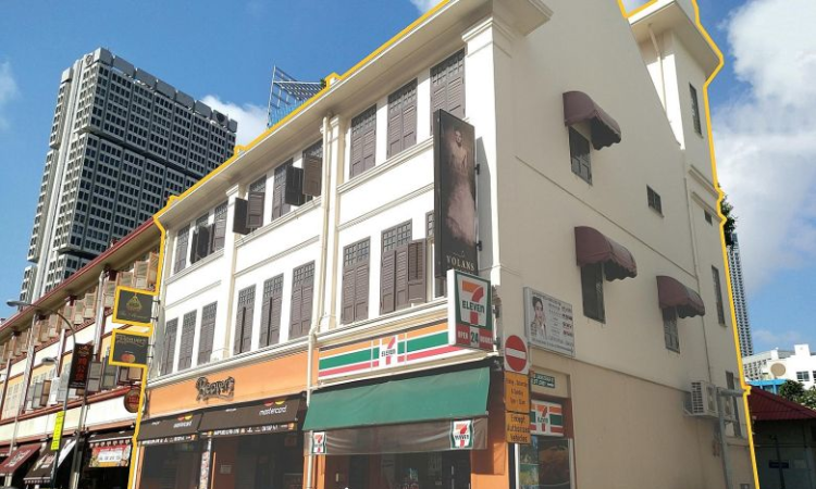 Liang Seah Street [Singapore], Little India shophouses for sale and auction