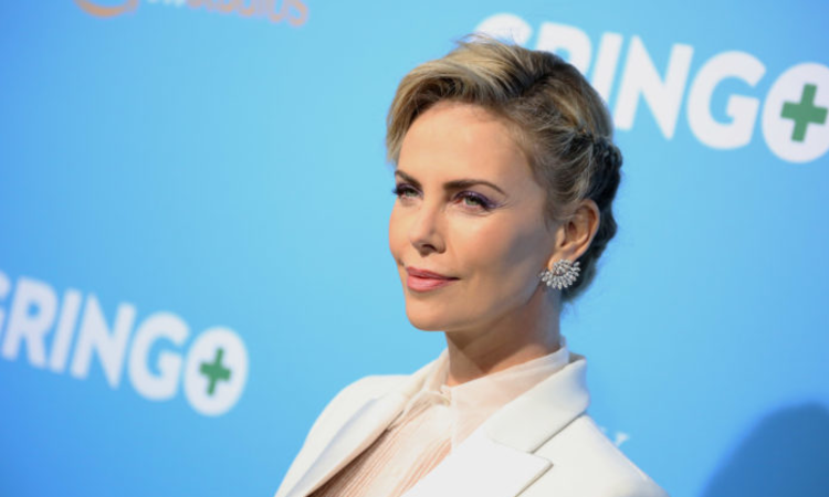 "CHARLIZE THERON JOINS ANIMATED ""ADDAMS FAMILY"" MOVIE"