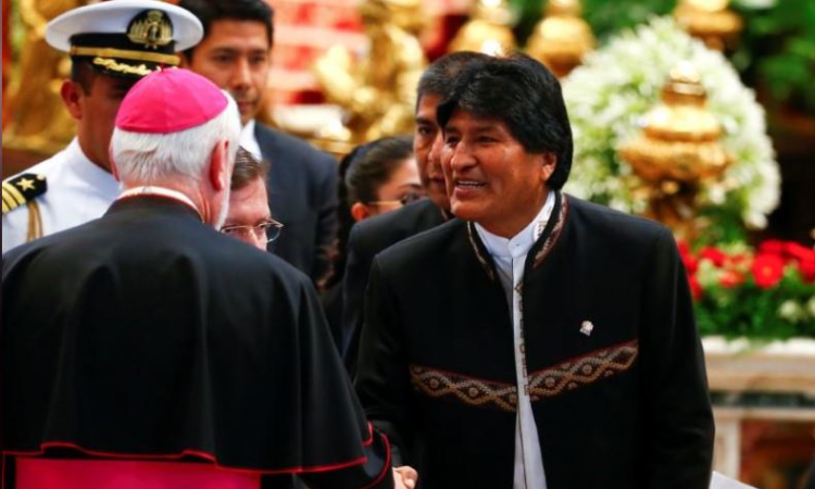 Bolivian President Morales has emergency surgery for tumor
