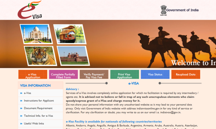 FREE Apply Indian e-Visa : Planning for Vacation to India