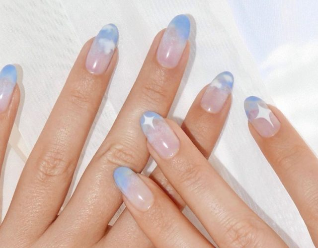 Тренды маникюра: ногти в стиле «тай-дай»
