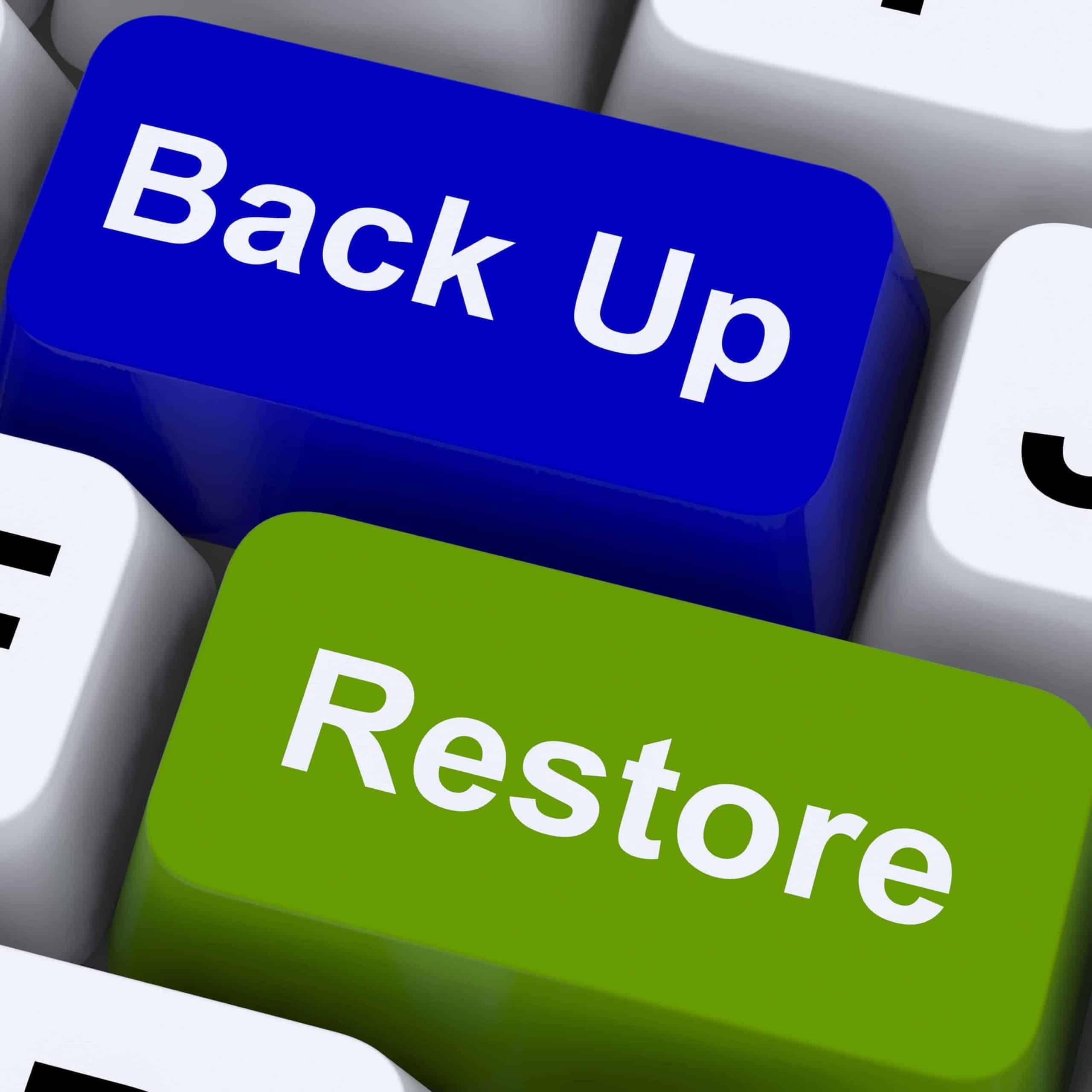 Do you have a recent website backup?