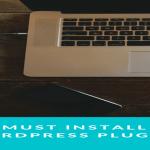 Must install plugins on new WordPress website