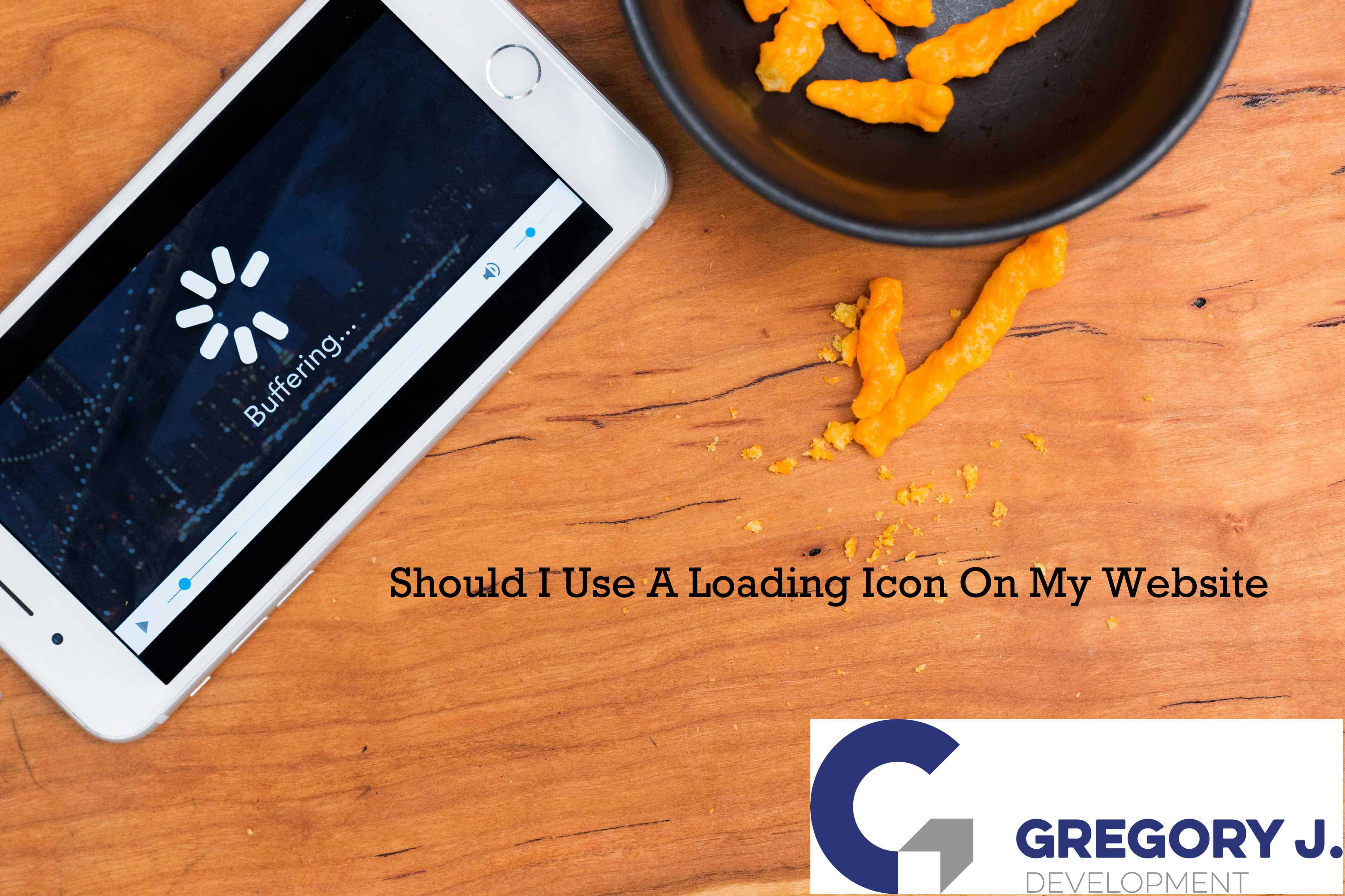 Should I Use A Loading Icon On My Website