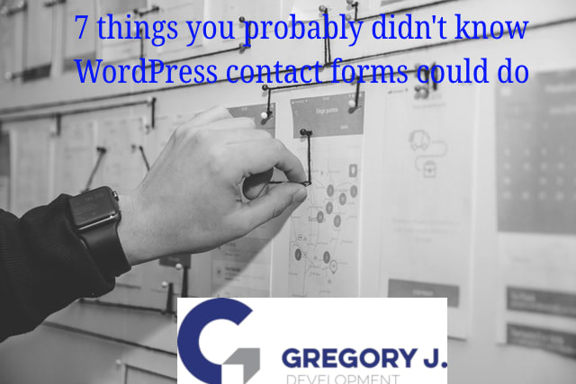 7 things you probably didn't know WordPress contact forms could do