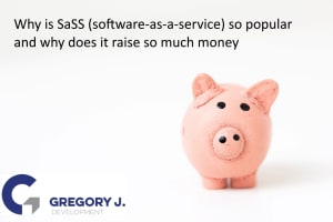 Why is SaaS (Software-as-a-service) so popular and why does it raise so much money