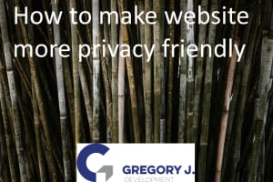 How to make website more privacy friendly