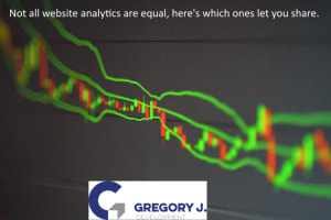 Not all website analytics are equal, here's which ones let you share.
