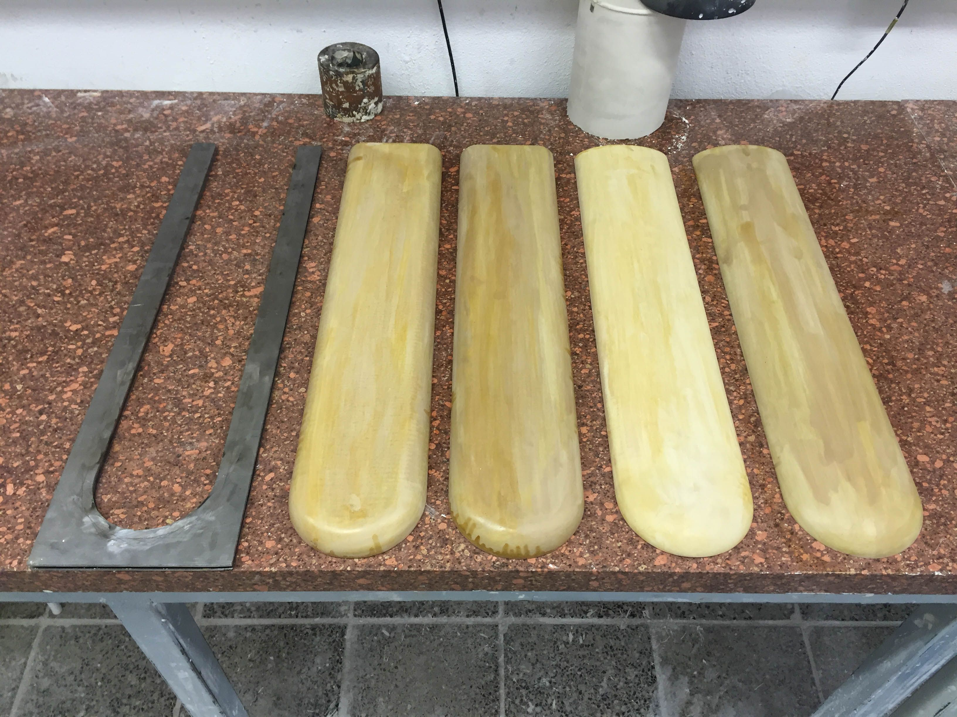 Plaster positives for mold