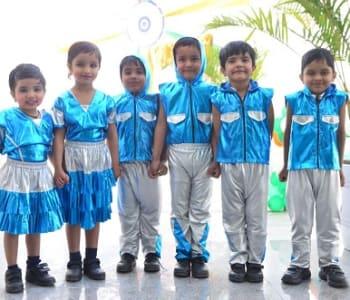 Pre-primary kids