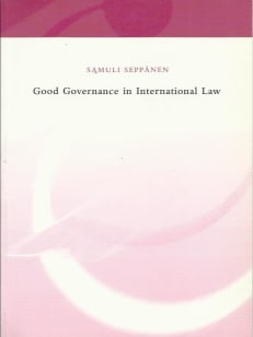 Good Governance in International Law