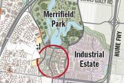 Jobs and homes in new Merrifield city