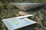 Inverted pyramid house latest in experimental design