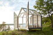 Cute cabins in Sweden proven to cure stress