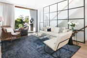 SJB have created an edgy retreat inside this mega-apartment in Balmain