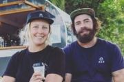 'Home is where you park it': The couple who quit everything for a coffee van
