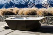 The formerly daggy outdoor spa is set to return as a chic statement piece
