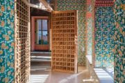 The colourful Gaudi house that's been restored to its former glory