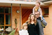 'Optimistic, nostalgic and playful': Inside the retro home of a family of four